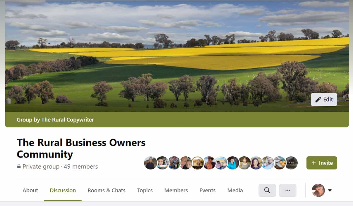 Join The Rural Business Owners Community on Facebook - The Rural Marketing Company